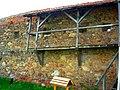 Biserica fortificată, Reformată, din Ilieni, Jud. Covasna. Zid curtină exterioară..jpg