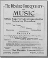 Bissing Conservatory of Music (advertisement).png