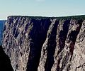 Black Canyon of the Gunnison National Park in September 2011 - Redwall from north rim.JPG