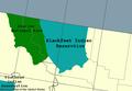 Blackfeet Indian Reservation map.PNG
