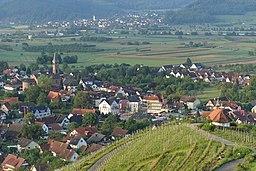 Blick auf Ohlsbach