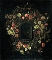 Bloemenkrans rond een nis. Rijksmuseum SK-A-732.jpeg