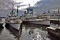 Boats at Burkliplatz, Zurich, Switzerland (Ank kumar) 03.jpg