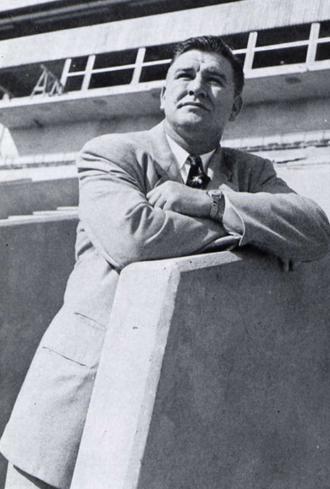 Bob Woodruff (American football) - Woodruff in 1951 Seminole yearbook