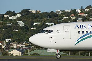 Boeing 737-300 (Air New Zealand) Wellington Airport (15).jpg
