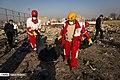 Boeing 737-800 crashed near Imam Khomeini international airport 2020-01-08 02.jpg