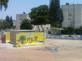 Jewish Agency for Israel - Bomb shelter in Sderot, Israel