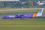 Bombardier DHC8-402 'G-JECY' Flybe (22830771942).jpg