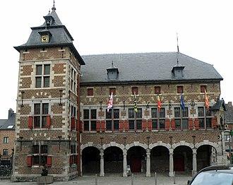 Borgloon - Image: Borgloon Stadhuis 1