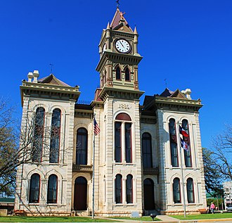 Bosque County, Texas - Image: Bosque County Court 1