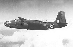 Swanton Morley - A Douglas Boston Mk. III of No. 88 Squadron, Royal Air Force, based out of RAF Swanton Morley from 1941–1943.
