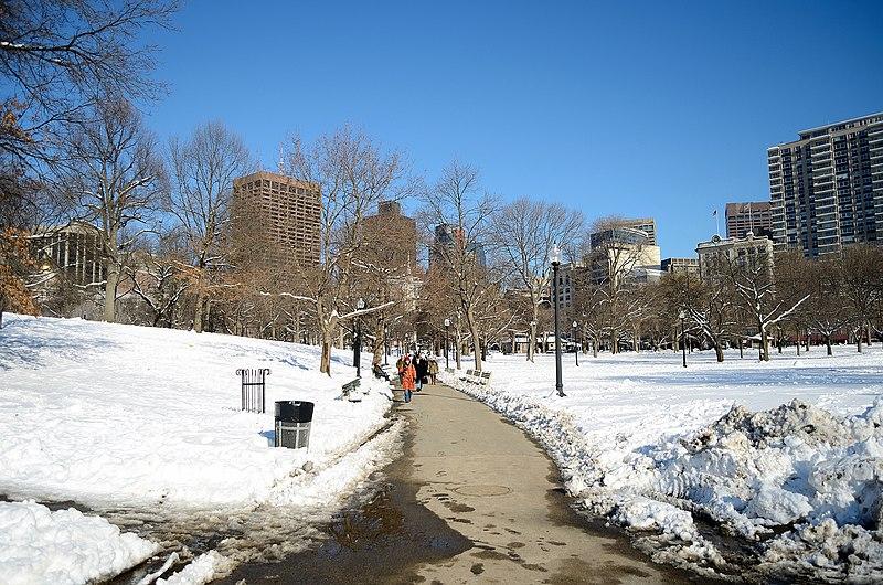 Neve em Boston