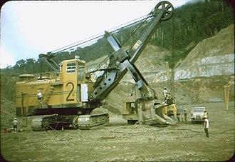 Politics of Papua New Guinea - Panguna mine