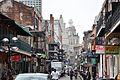 Bourbon Street, New Orleans from St Louis Street 5.JPG