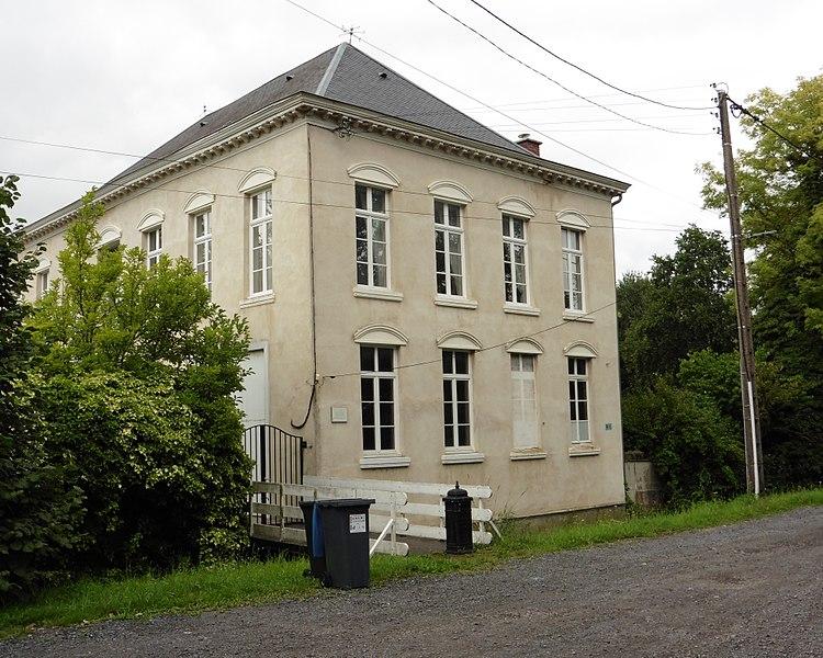 Maison du poète et député Antony_Thouret à  Bouvignies (Nord) dans le Nord région   Nord-Pas-de-Calais France.