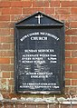 Bowcombe Methodist Church, Bowcombe Road, Bowcombe (May 2016) (Signboard).JPG