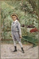 Boy with a Wheelbarrow
