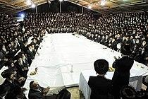 Boyan tish, Sukkot 2009.jpg