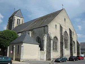 Boynes - The church in Boynes