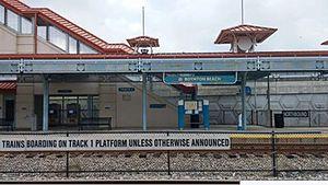 Boynton Beach station - Image: Boynton Beach Tri Rail