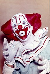 Roger Bowers As Wjhl Tv Johnson City Tennessees Bozo