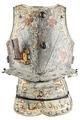 Bröstharnesk med hjärtan buret av greve Jakob De la Gardie vid fottornering 1651 - Livrustkammaren - 91409.tif