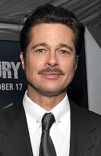 Brad Pitt American actor and filmmaker
