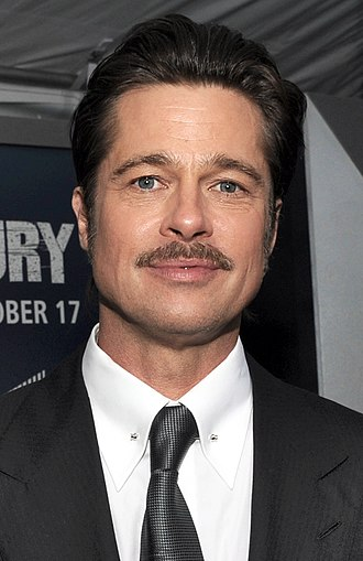 Brad Pitt - Pitt at the premiere of Fury in Washington, D.C., October 2014