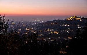 Brescia at night