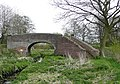 Bridge 7, Hatherton Canal, Wedges Mills, Staffordshire - geograph.org.uk - 791160.jpg