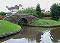 Bridge by former wharf at Hockley Heath, Solihull - geograph.org.uk - 1716387.jpg
