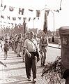 Brigada Miloša Zidanška se je vrnila s popotovanja po poteh partizanskega Pohorja v Maribor 1961 (8).jpg