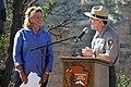 Bright Angel Trailhead Renovation Dedication- Susan Schroeder and Dave Uberuaga - May 18, 2013 - 0185 (8779252563).jpg