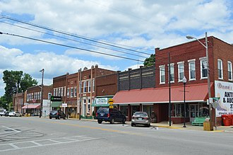 Cave City, Kentucky - Broadway in Cave City