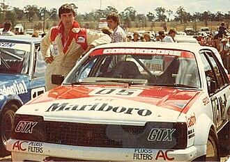 Peter Brock - Brock at Symmons Plains 1982