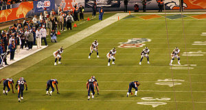 Onside kick - The Denver Broncos attempting an onside kick in the fourth quarter against the St. Louis Rams on 11-28-2010, while trailing by 3.  They did not recover.