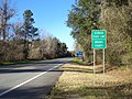 Brooks County, Georgia state signs US 221 NB.JPG