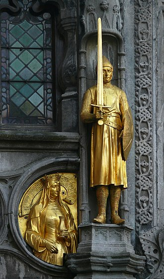 Thierry, Count of Flanders - Image: Bruges basilica Thierry of Flanders