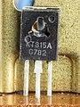 Bruns Monocord-6020 - Power supply unit - transistor KT815A-0121.jpg