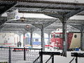 Bucharest North railway station main platform, January 26, 2014.jpg