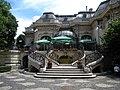 Bucuresti, Romania. Casa Oamenilor de Stiinta. (CASA ASSAN). Imagine din spatele Casei. (B-II-m-B-19009) (Ansamblu).jpg