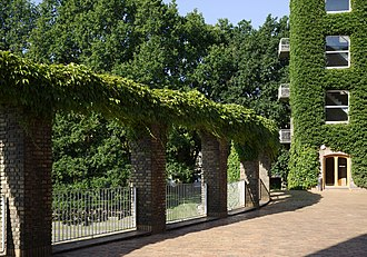 Aarhus University - The brick colonnades