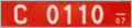 Bulgarian diplomatic license plate.png