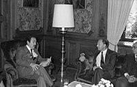 Bundesarchiv B 145 Bild-F073643-0009, Bonn, Warnke mit Präsident von Guatemala.jpg