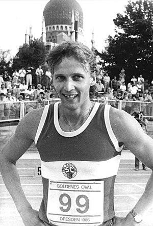 Thomas Schönlebe - Schönlebe in 1986
