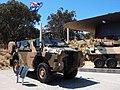 Bushmaster and ASLAV on display outside the AWM October 2018.jpg
