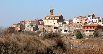 Montgai - Butsènit d'Urgell village