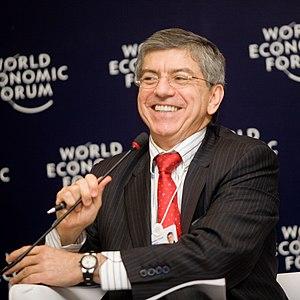 Colombian presidential election, 1990 - Image: César Gaviria, World Economic Forum on Latin America 2009 (cropped)