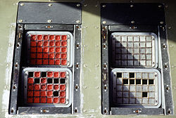 C-130 Hercules flare and CHAFF dispensers