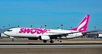 C-FONK Swoop Boeing 737-8CT s n 40835 (39783249613).jpg